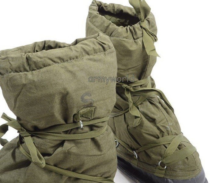 Overlays For Shoes Military Warmed Dutch Original Used