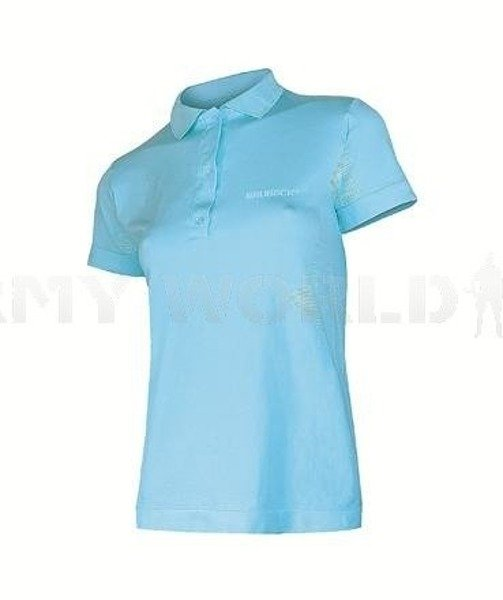 PRESTIGE  Seamless Polo Shirt for Ladies BRUBECK Blue New SALE