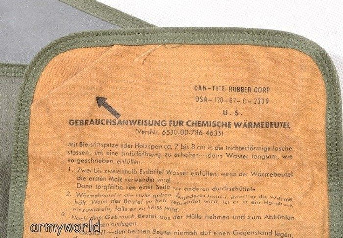 Personal Warmer Bundeswehr Original New