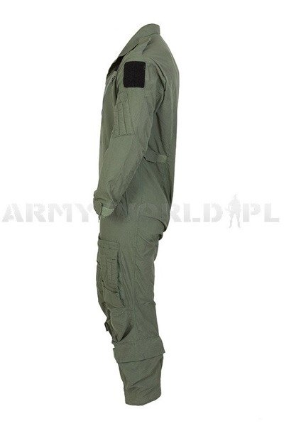 Pilot Coveralls Military German Oliv Original Demobil