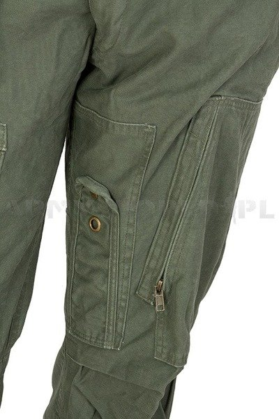 Pilot's Military Cargo Pants Mil-tec Oliv New