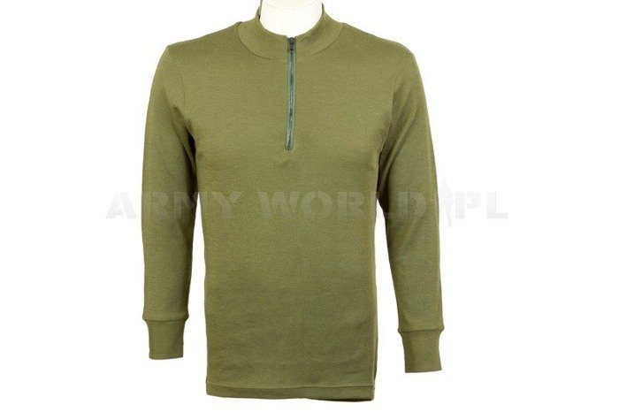 Pilot's Undershirt/Trikot Aircrew Field Olive Original Used