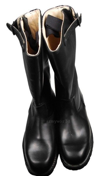 Police Jackboots BundesPolizei Leather Original New