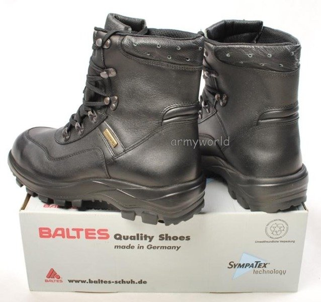 Police Leather Boots BALTES SYMPATEX Trial Version II Quality Size 41 Original New Art. Nr 51002-M2