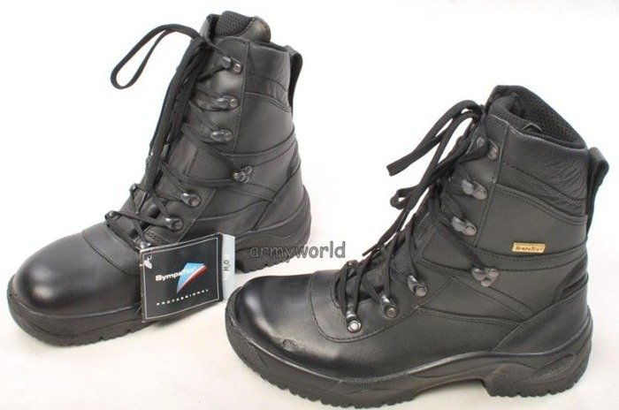 Police Leather Boots BALTES SYMPATEX Trial Version Original New Model 22109