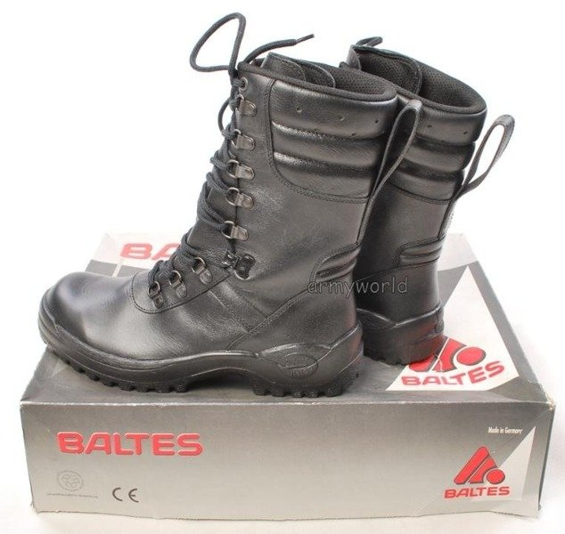 Police Leather Boots Baltes Combat Boot DAMC Trial Version New II Quality  Art.Nr 05572