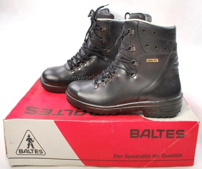 Police Leather Boots Baltes S3 GORE-TEX  Trial Version New Art.Nr 66391