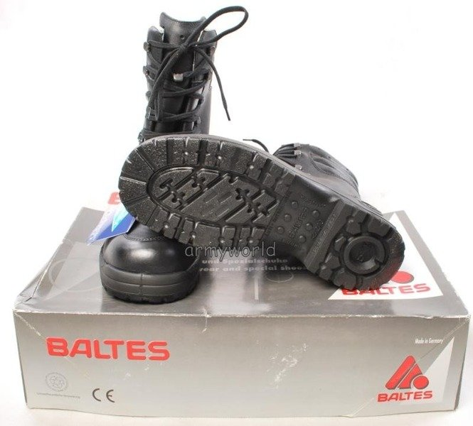 Police Leather Boots Baltes SYMPATEX Model Genesis 131 Trial Version New II Quality