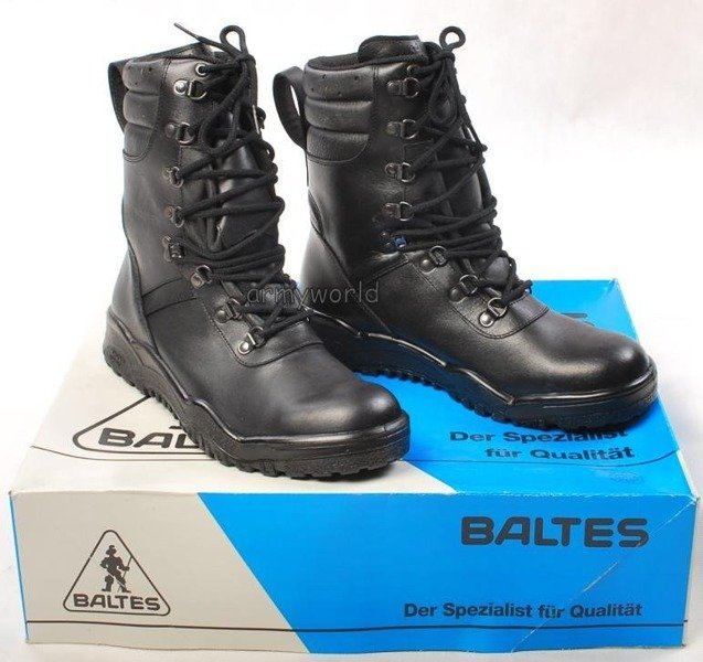 Police Leather Boots Baltes SYMPATEX  Trial Version New II Quality Art. Nr 54765