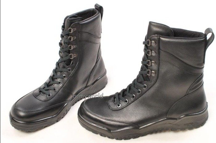 Police Leather Boots Baltes Trial Version New  Art .Nr 801303