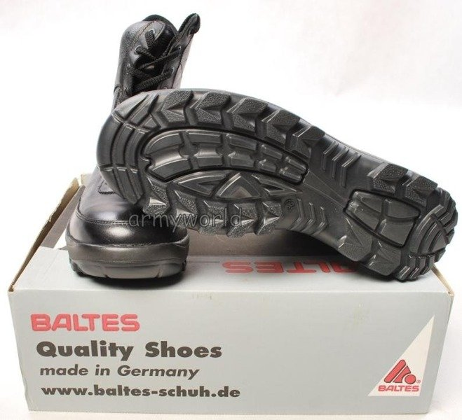 Police Leather Boots Baltes Trial Version New  Art .Nr 99503 Size 8