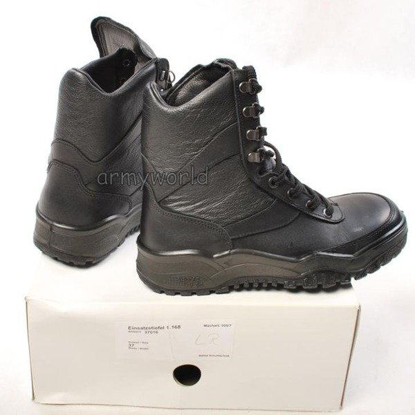 Police Leather Boots Baltes Trial Version New II Quality  Art .Nr 37016