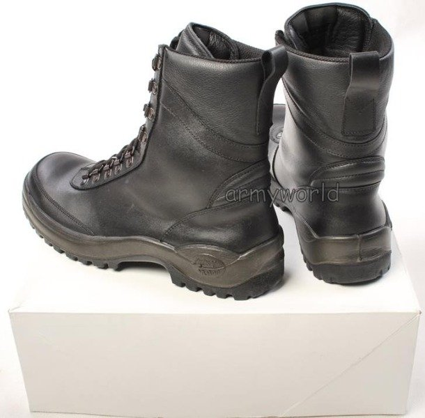 Police Leather Boots Baltes Trial Version New II Quality  Art .Nr 801304