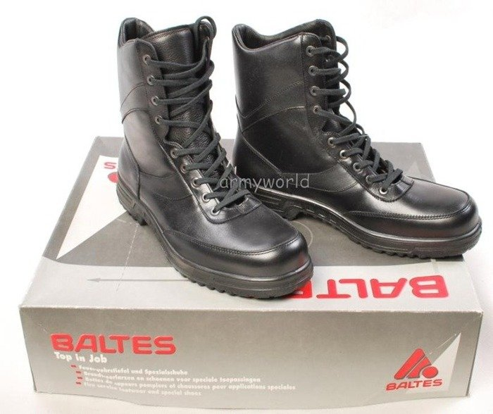 Police Leather Boots Baltes Trial Version New II Quality Art .Nr 801305