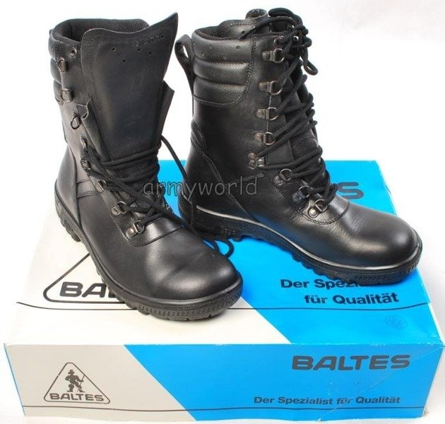Police Leather Boots Baltes Trial Version New II Quality Art .Nr 901302