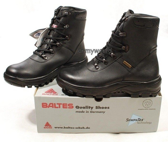 Police Leather Shoes BALTES SYMPATEX BOS System Trial Version Original New