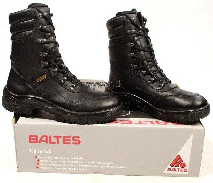 Police Leather Shoes BALTES SYMPATEX GENESIS Prosafco Trial Version Original New