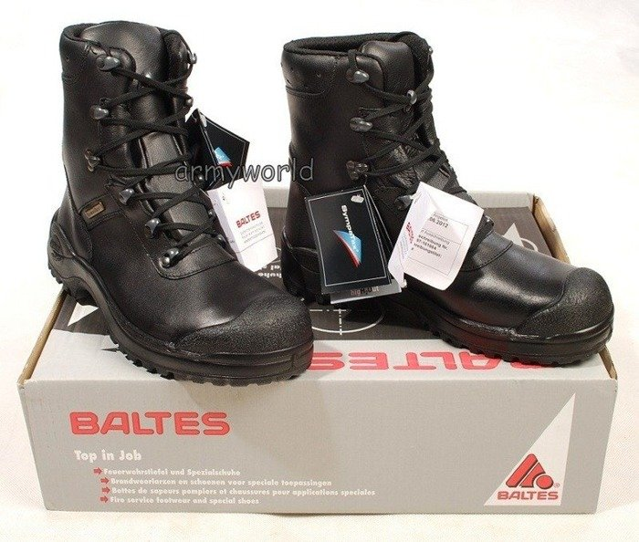 Police Leather Shoes BALTES SYMPATEX Mission S3 Trial Version Original New