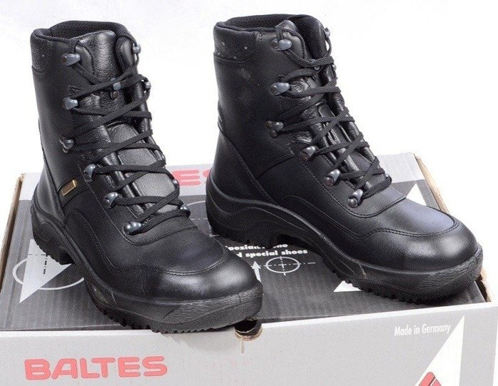 Police Leather Shoes BALTES SYMPATEX Test Version Original New Art. Nr 56002