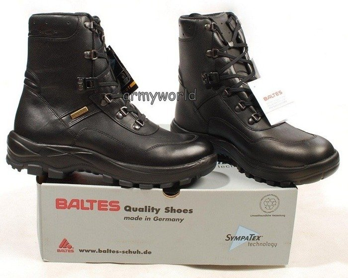 Police Leather Shoes BALTES SYMPATEX Trial Version II Quality Original New Art. Nr 589004