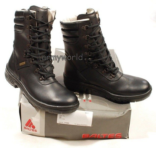 Police Leather Shoes Baltes GORE-TEX  Trial Version New Art.Nr 51965