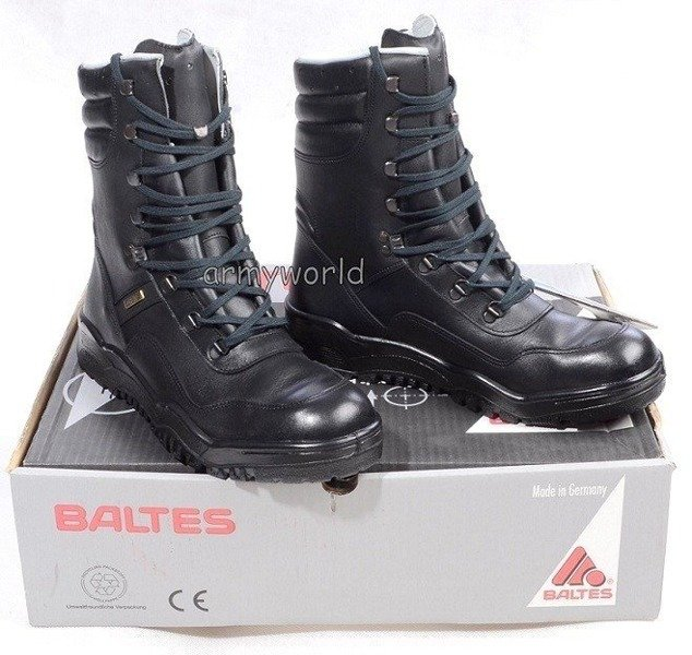 Police Leather Shoes Baltes Gore-tex Genesis Model Test Version New  Art. Nr 37059