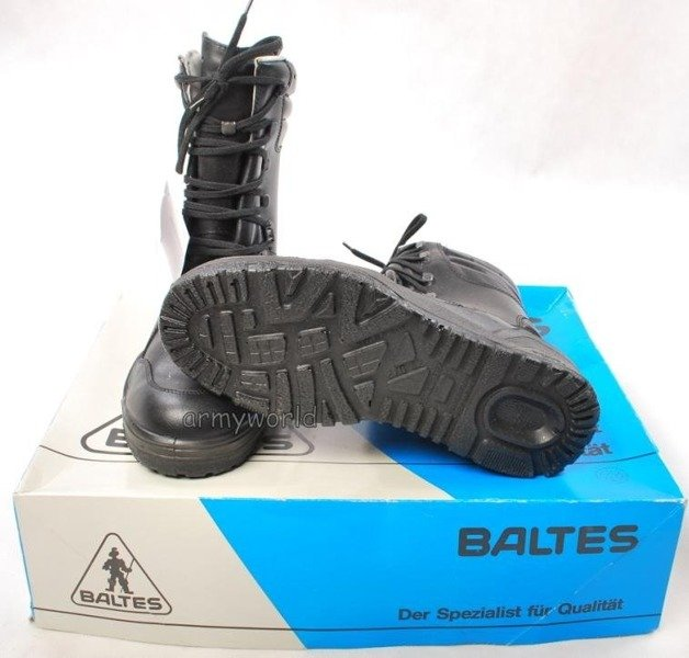 Police Leather Shoes Baltes SYMPATEX Model Genesis II Trial Version New II Quality Art. Nr 38196
