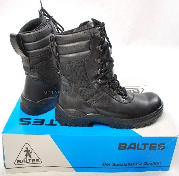 Police Leather Shoes Baltes Trial Version With Material Insertion New II Quality  Art .Nr 901354