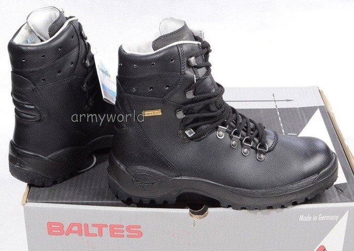 Police Leather Shoes S2 BALTES SYMPATEX Test Version Original New Art. Nr 99660