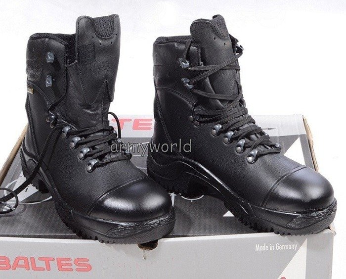 Police Shoes X-TREK  S3 Leather BALTES SYMPATEX  Demobil - Very Good Condition