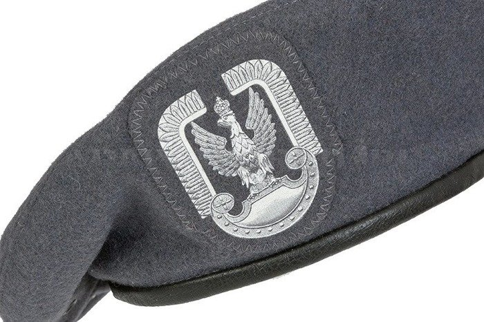 Polish Military Beret Grey Original New