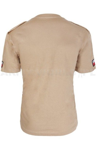 Polish Military T-shirt 514 B/MON Original - Desert - New