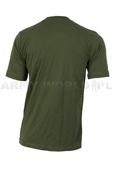 Polish Military T-shirt 518/519/MON Original - Oliv - New