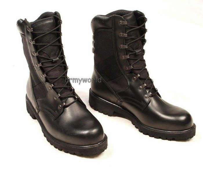 Polish leather military boots DEMAR 926/MON summer version - Original - New