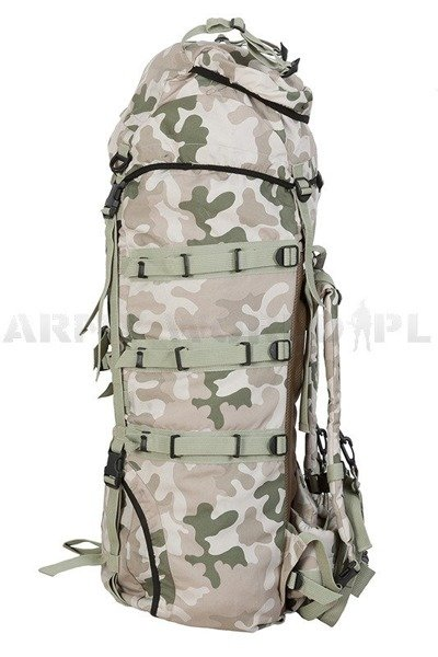 Polish military backpack- 987P/MON PL Desert Original Demobil SecondHand