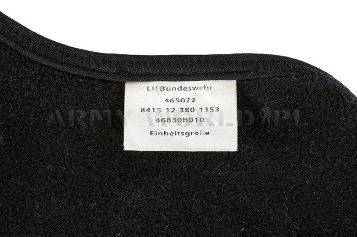 Protectiv Warm Face Mask Neopren LH Bundeswehr Black Used