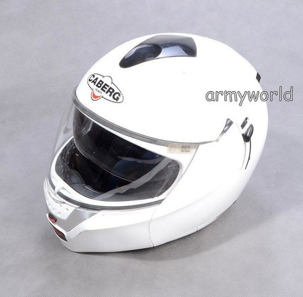 Protective Crash Helmet CABERG JUSTISSIMO GT Demobil Sufficient Condition Second-Hand