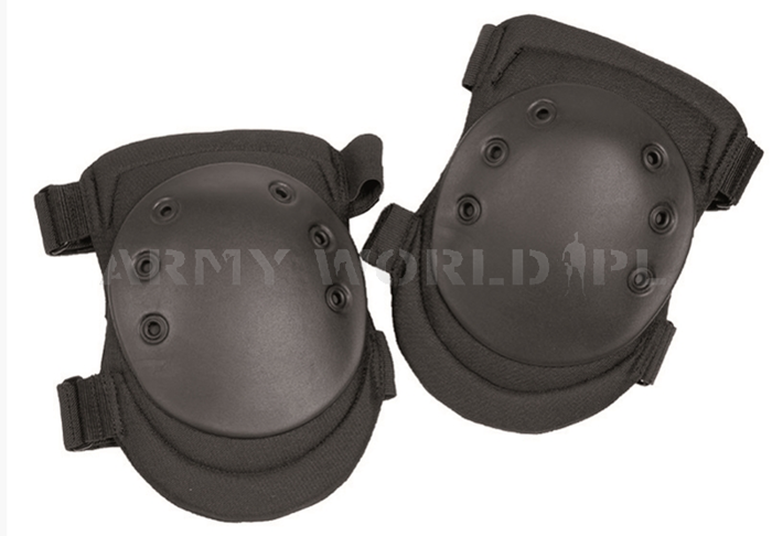 Protective Knee Pads Black Paintball ASG Mil-tec New