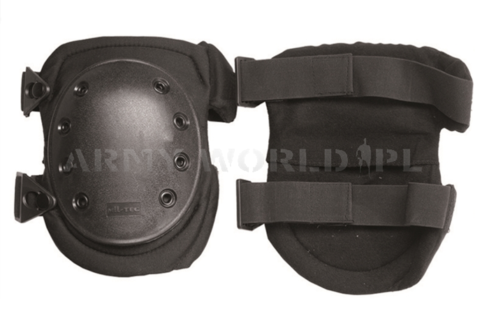 Protective knee pads - Mil-tec PROFESSIONAL Black New