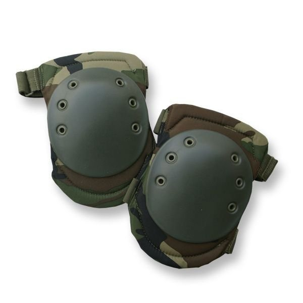 Protective knee pads Woodland PAINTBALL ASG Mil-tec New