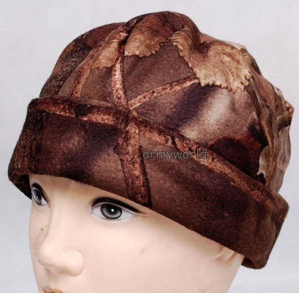 Quilted Winter Hunting Cap Wild Tress Autumn camouflage New
