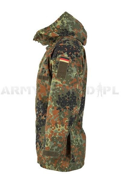 Rainproof Jacket  Gore-Tex Flecktarn Bundeswehr Original New