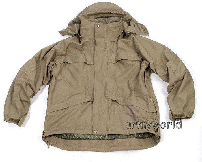 Rainproof Protective Jacket With Liner 71 & 72 /BOR Original Oliv  Demobil
