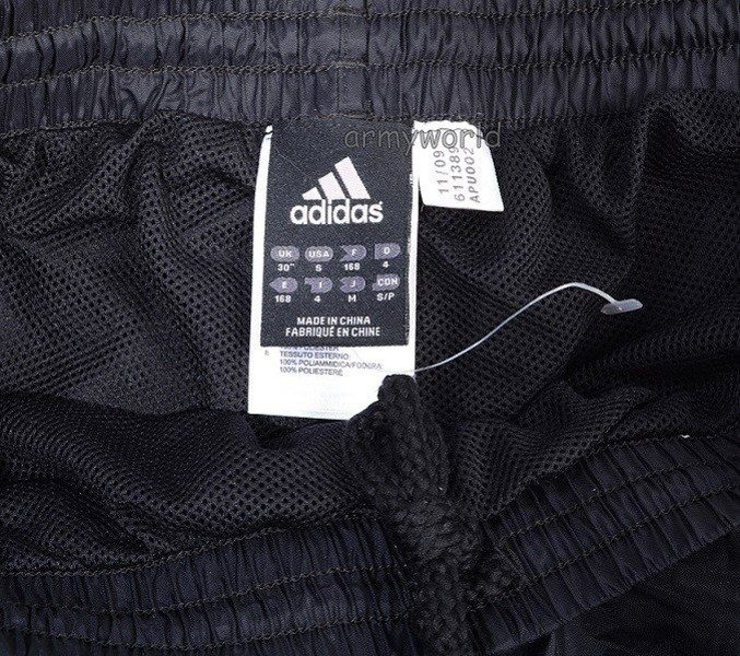 Rainproof Trousers ADIDAS Original New