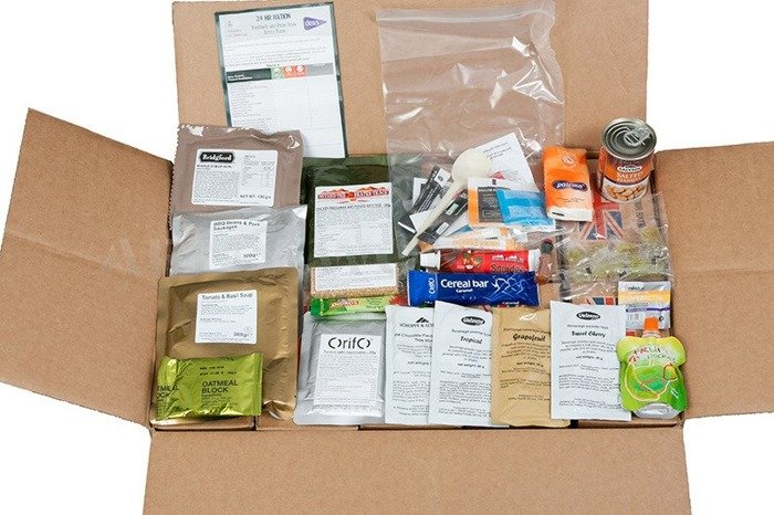 Ration Pack British Army 24 Hour Oryginal