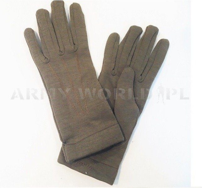 Military Austrian Gloves Olive Original New