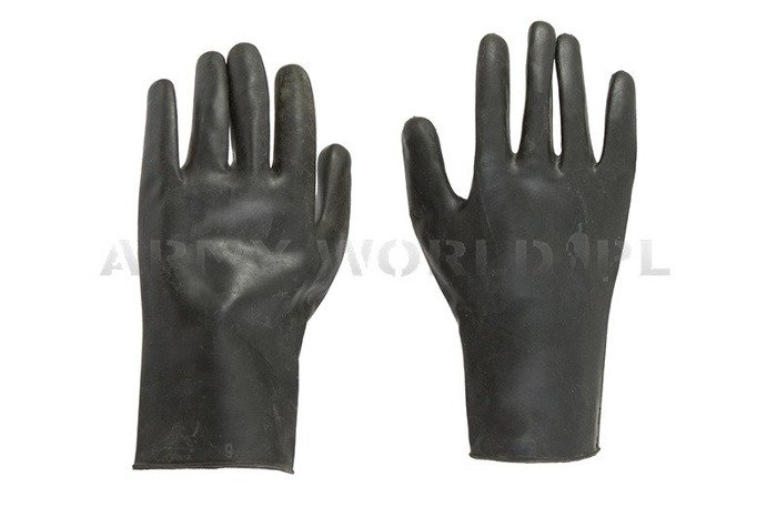 Rubber Gloves Dutch Black Original Used