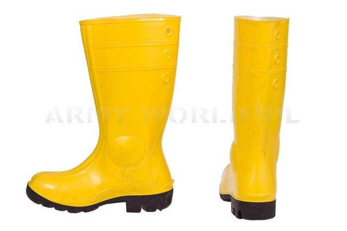 Rubber Safety  Boots Phoenix Yellow Used