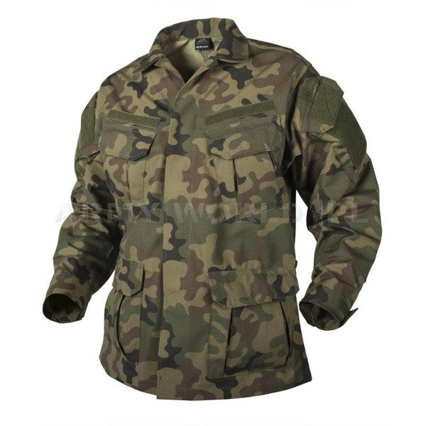 SHIRT SFU NEXT Helikon-tex PolyCotton Ripstop PL Camo NEW