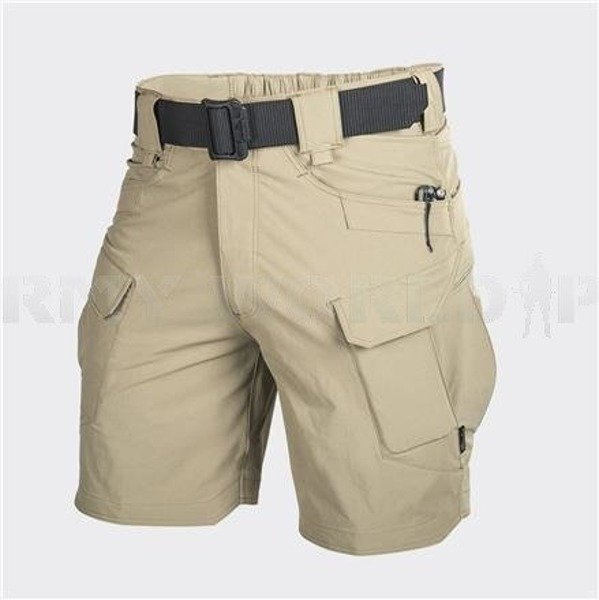"SHORTS Outdoor Tactical Shorts OTS 8,5"" Helikon-Tex- Nylon Khaki New"